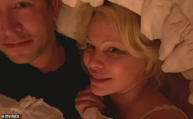 Pamela Anderson s manželom