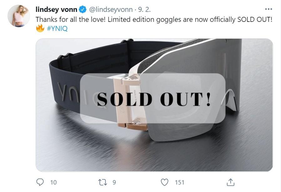 Lindsey Vonn Twitter