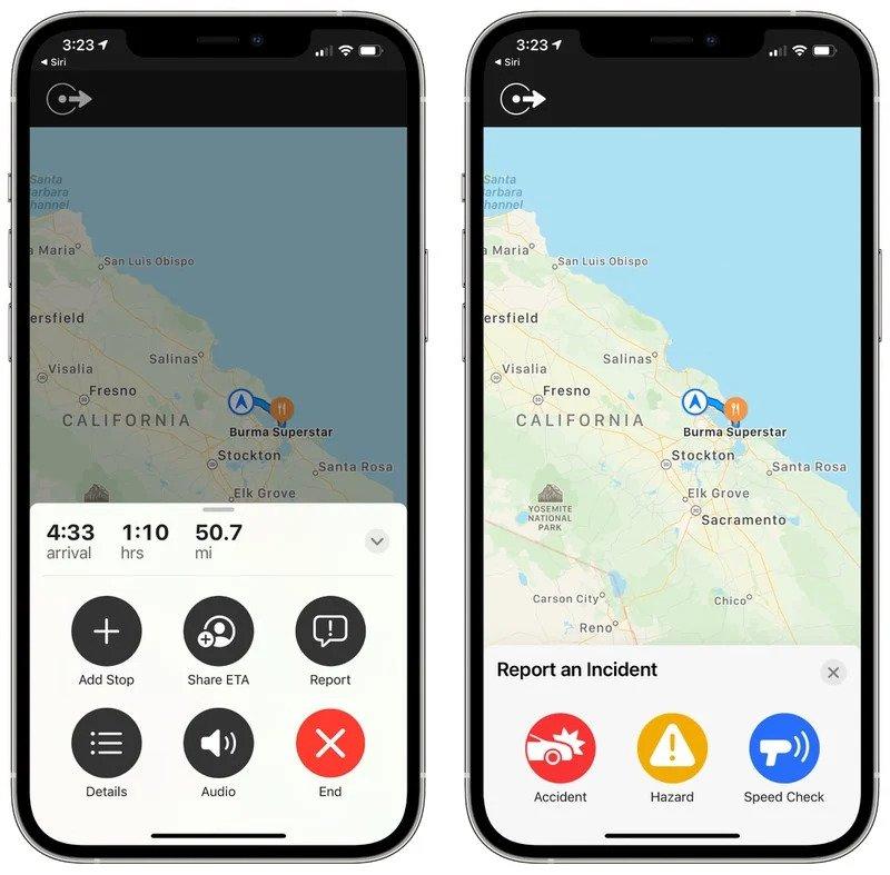 Apple Maps s novou funkciou