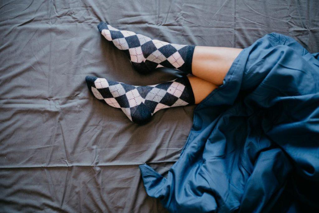 Ponnožky v posteli
