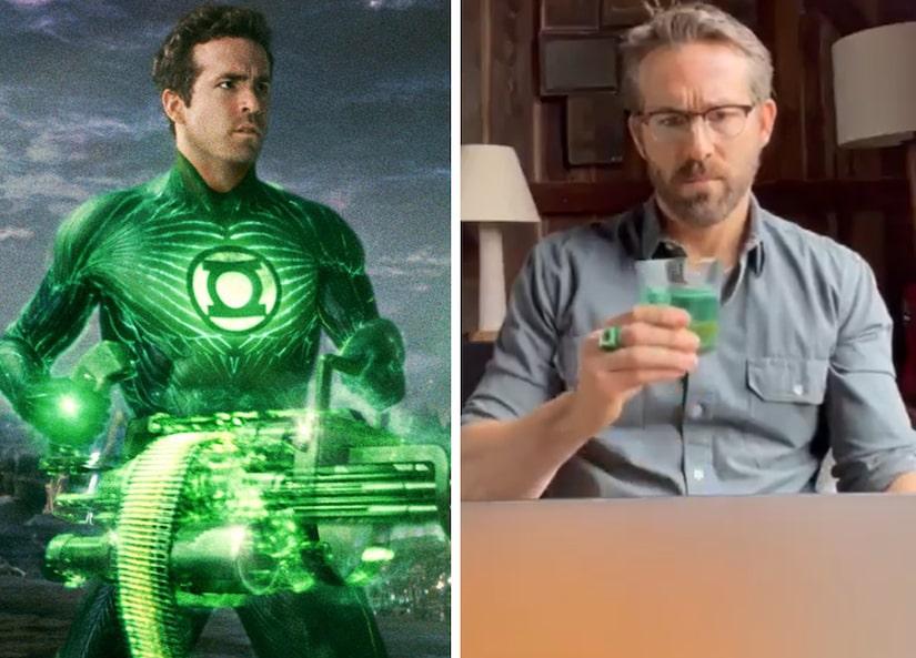Ryan Reynolds videl svoj film až po 10 rokoch, musel sa potužiť alkoholom