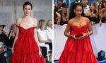 šaty vyzerajú na modelkách a celebritách úplne inak