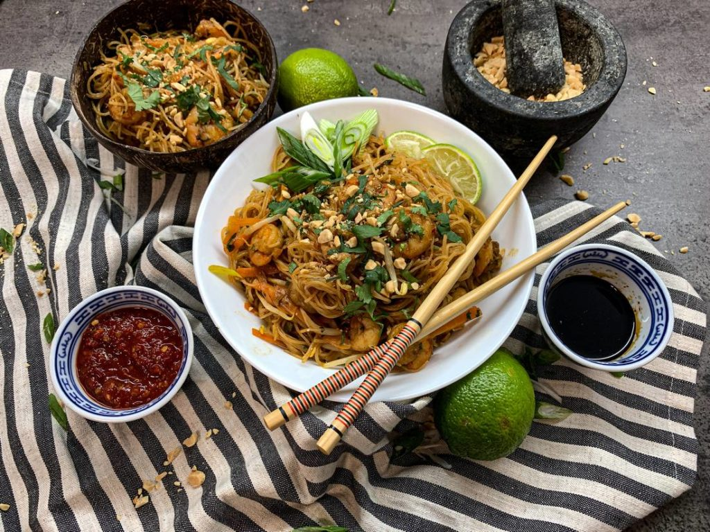 Recept: Pad Thai s krevetami