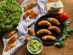 Domáce rohlíky s guacamole