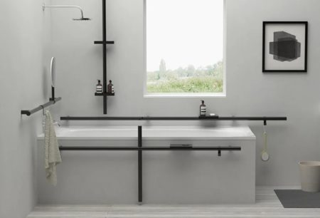 Štýlová kúpeľňa pre ľudí s artritídou